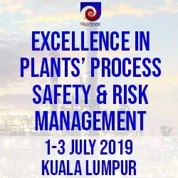 EXCELLENCE IN PLANTS' PROCESS SAFETY & RISK MANAGEMENT (1-3 Jul 19 KL)