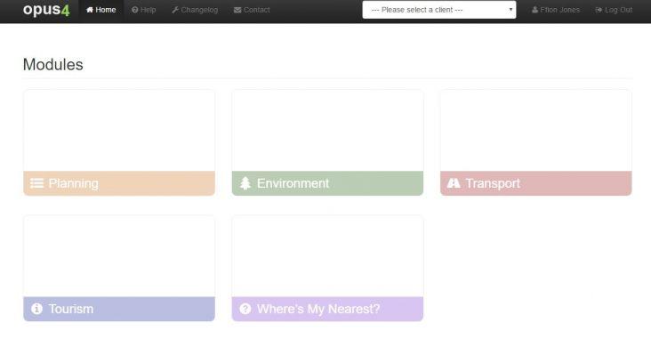 Opus4 homepage