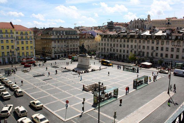 Praça da Figueira, Lissabon