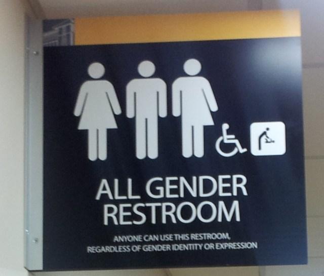 genderneutraal toilet