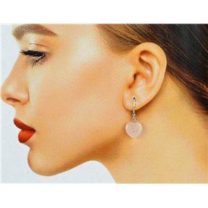 1p-boucles-oreilles-a-crochet-metal-argente-en-pierre-quartz-rose-78627