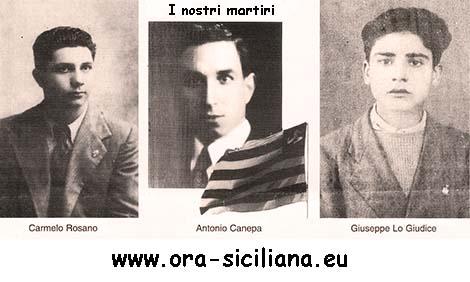 Martiri siciliani. Non vi dimenticheremo mai!