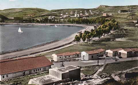 Lago di Pergusa nel 1962