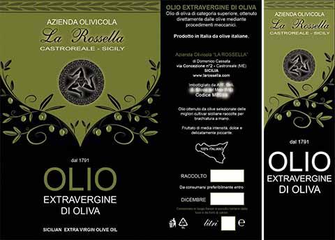 Olio di oliva con Trinacria vietato da maledetta Europa