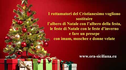 Feste di Natale. Vogliono rottamarle e islamizzarle