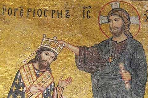 Ruggero II degli Altavilla incoronato re nel Natale 1130