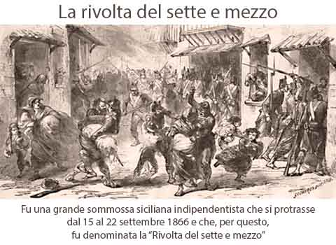 La rivolta del sette e mezzo del 15 settembre 1866
