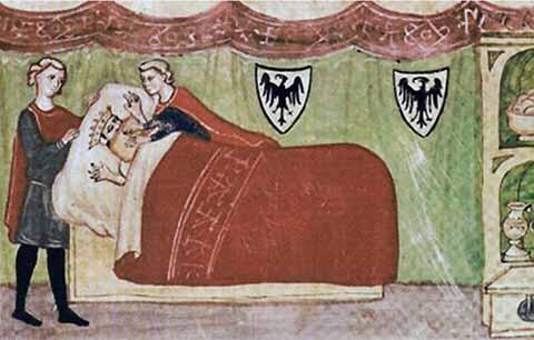 La morte di Federico II