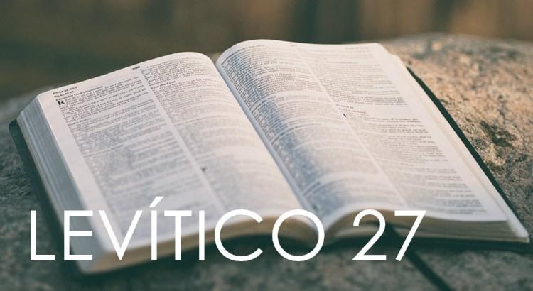 LEVÍTICO 27