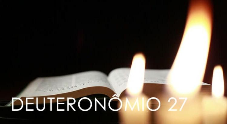 DEUTERONÔMIO 27