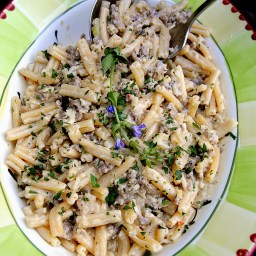 Cauliflower Italian Sausage Strozzapreti or Casarecce, Da Leo
