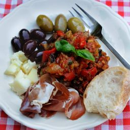 Caponata (Sweet And Sour Eggplant)