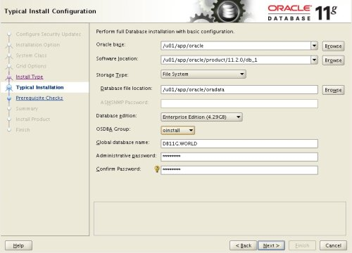 Cài đặt Oracle Database 11g Release 2 (11.2) (64-bit) trên Oracle Linux 6 (64-bit) (6/6)