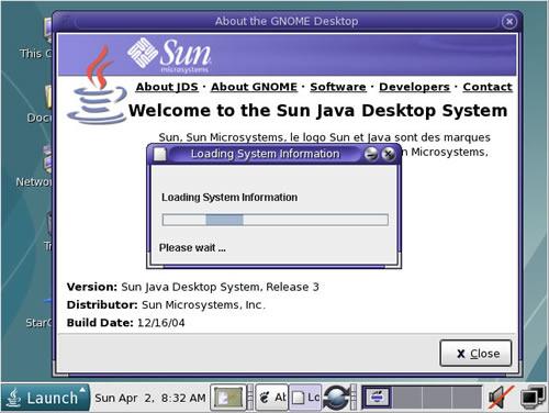 Desktop Startup