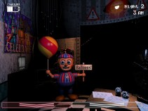 Ballon Boy standing in your office while jamming your flashlight.