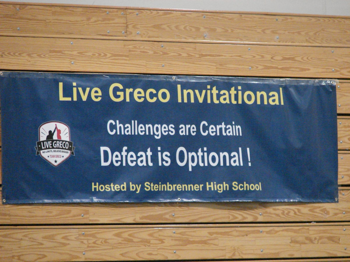 Wrestling hosts first annual Live Greco Invitational