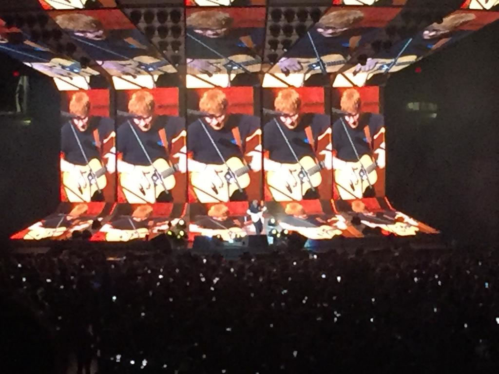 Ed shreds at Amalie Arena