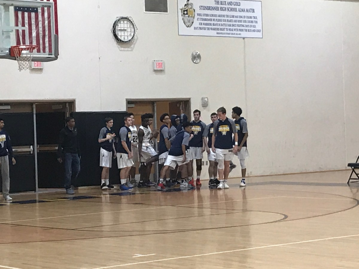 Steinbrenner Boys' Basketball team loses to Hillsborough High School