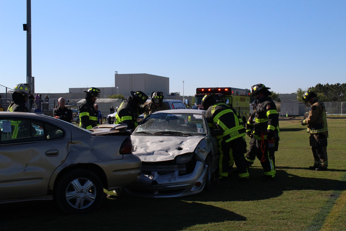 Steinbrenner simulates consequences of drunk driving with mock crash