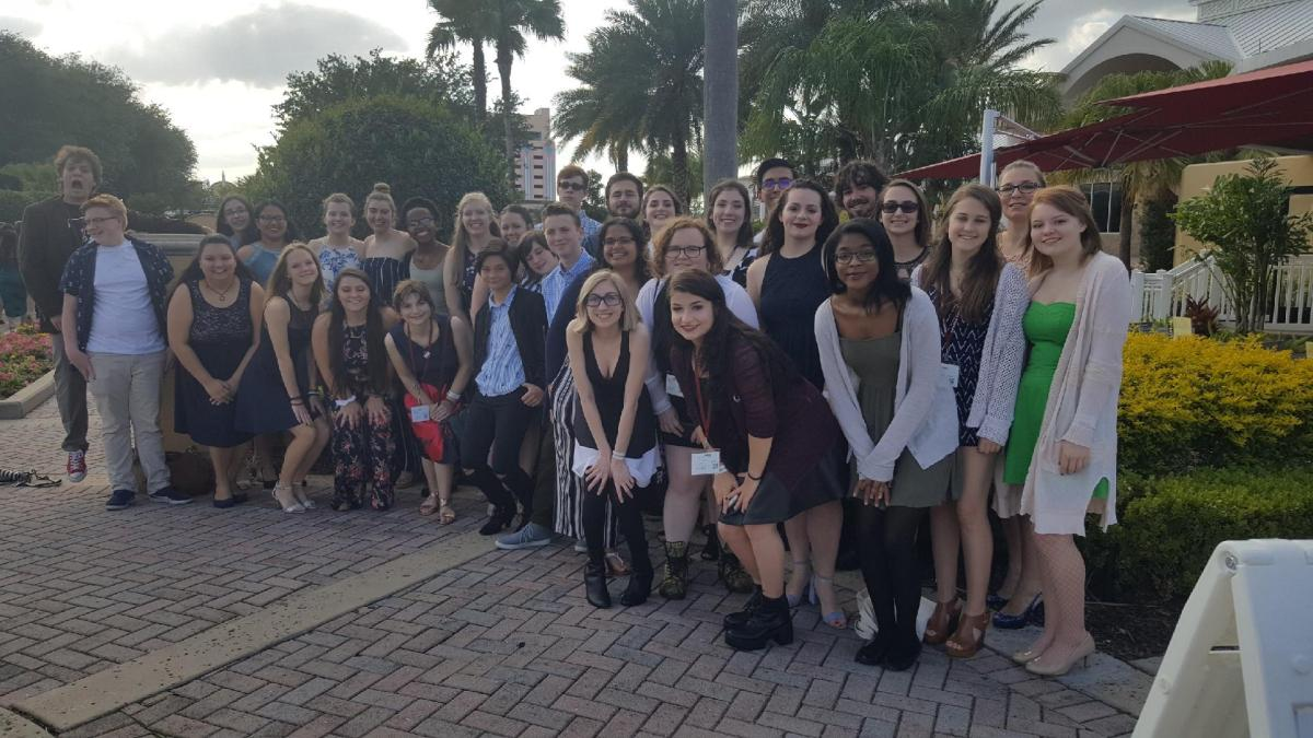Steinbrenner publications attend FSPA state convention
