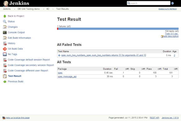 Jenkins-test-results