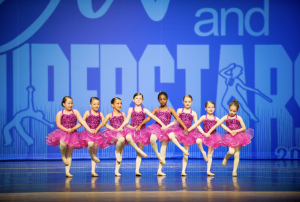 children performing in dance recital