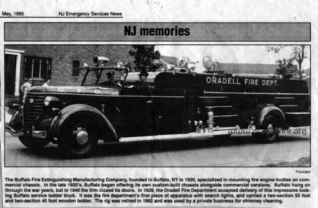 1939 Buffalo Ladder Truck