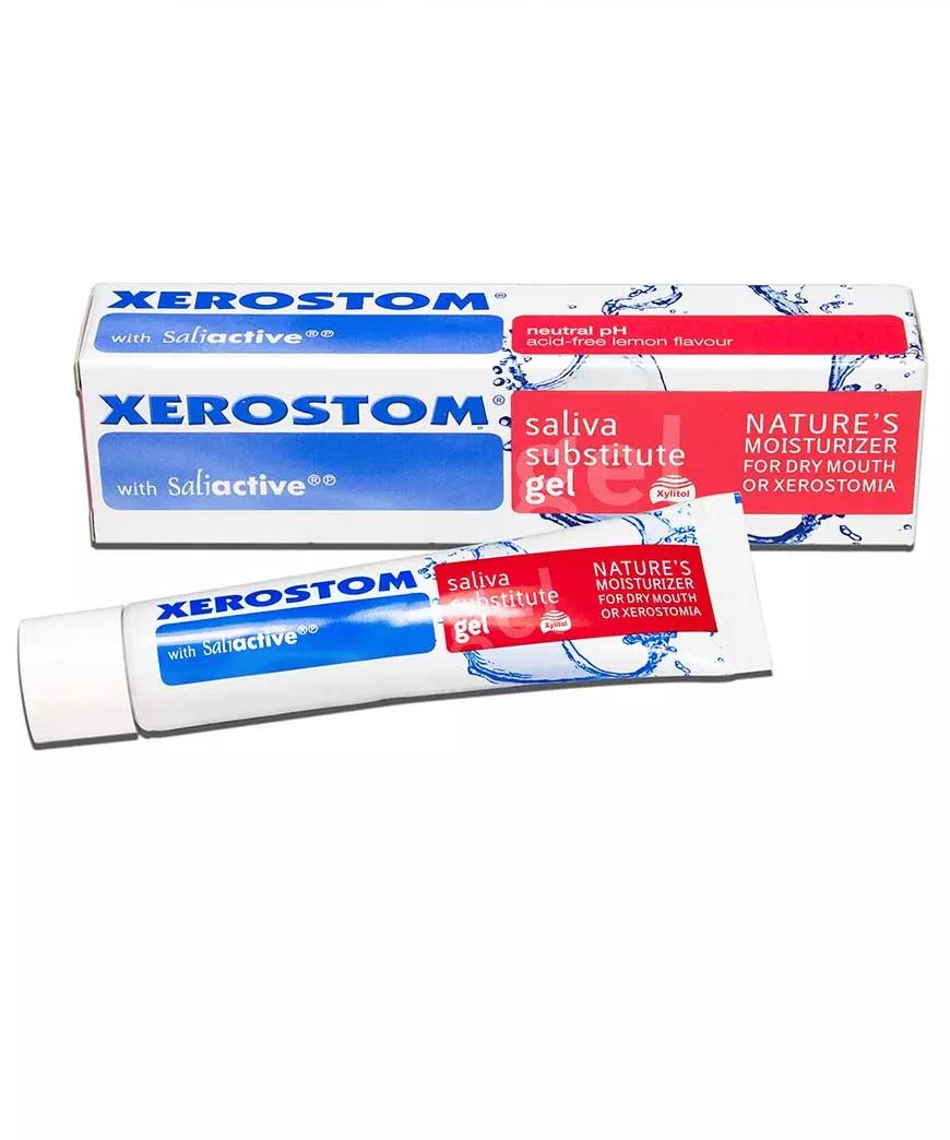 Xerostom Gel for Dry Mouth and Xerostomia