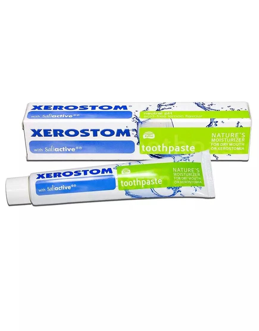 Xerostom Toothpaste for Dry Mouth and Xerostomia