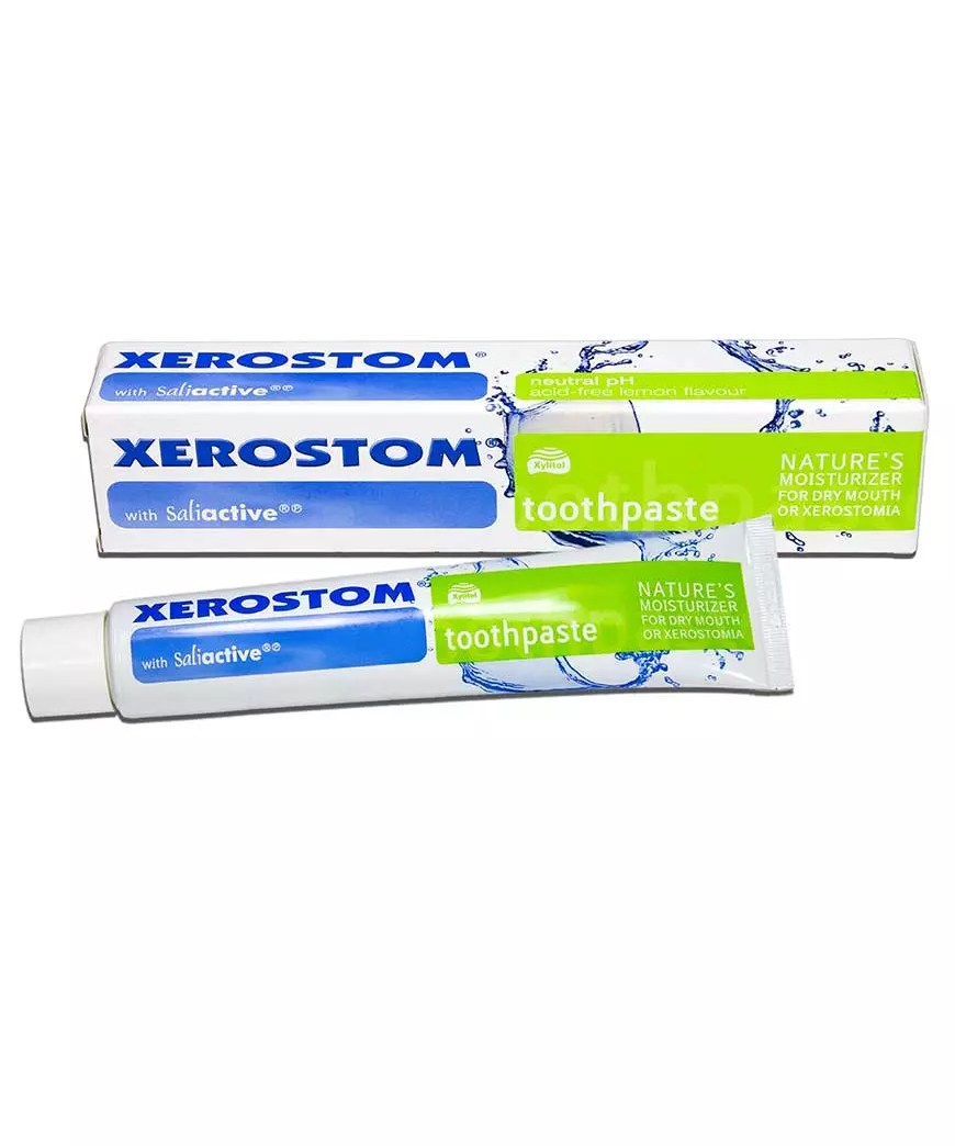 Xerostom Toothpaste for Dry Mouth and Xerostomia