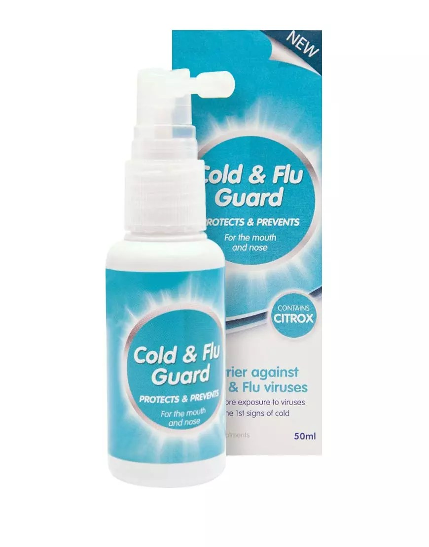 cold and flu guard barrier against cold and flu viruses