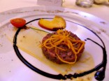 Tartare di filetto di fassona | © OMDT