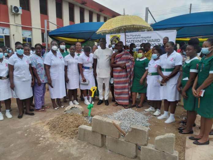 Manhyia hospital gets 50-bed capacity maternity ward