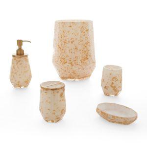 malibu-gold-طقم-اكسسوار-حمام-5-قطع