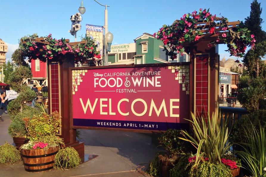 Disney California Adventure Food Amp Wine Festival Orange Coast