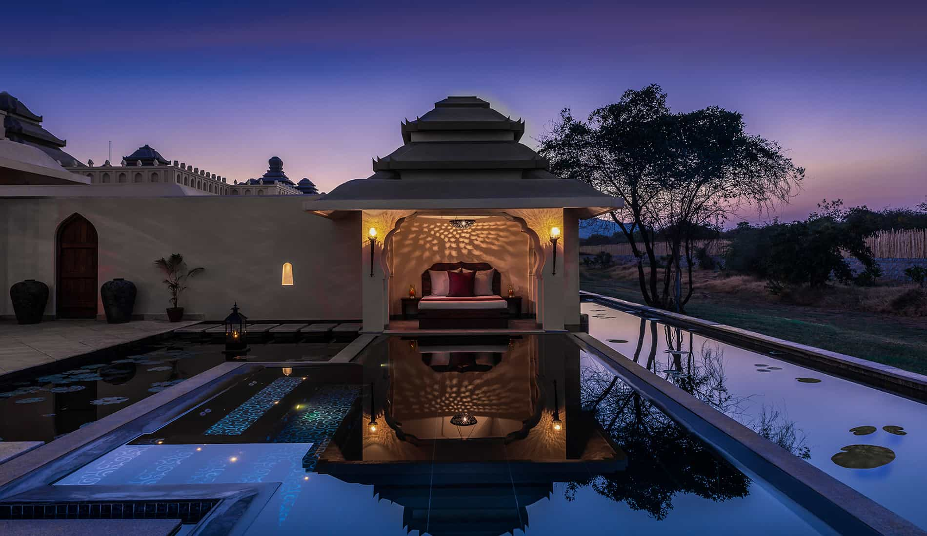 Jal Mahal Suitable For Couples With Jacuzzi Amp Plunge Pool