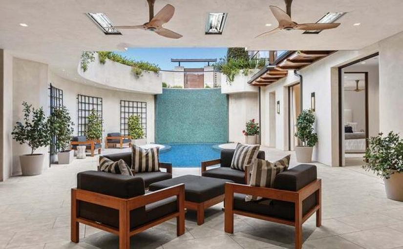 Corona del Mar courtyard home with a 29-foot water wall seeks $35 million