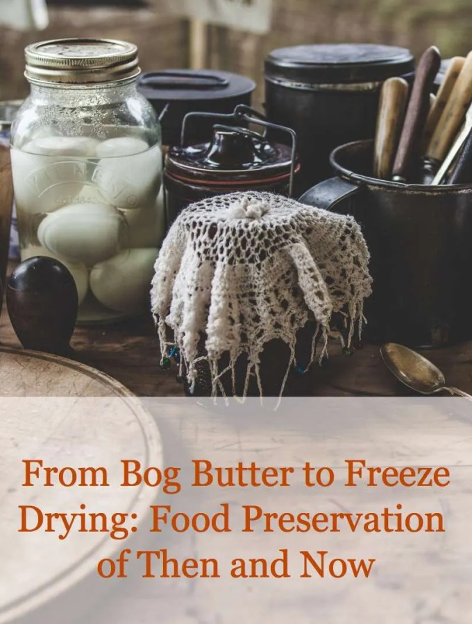 REAL FOOD STORAGE Part 3 {Old and New Preservation Methods}