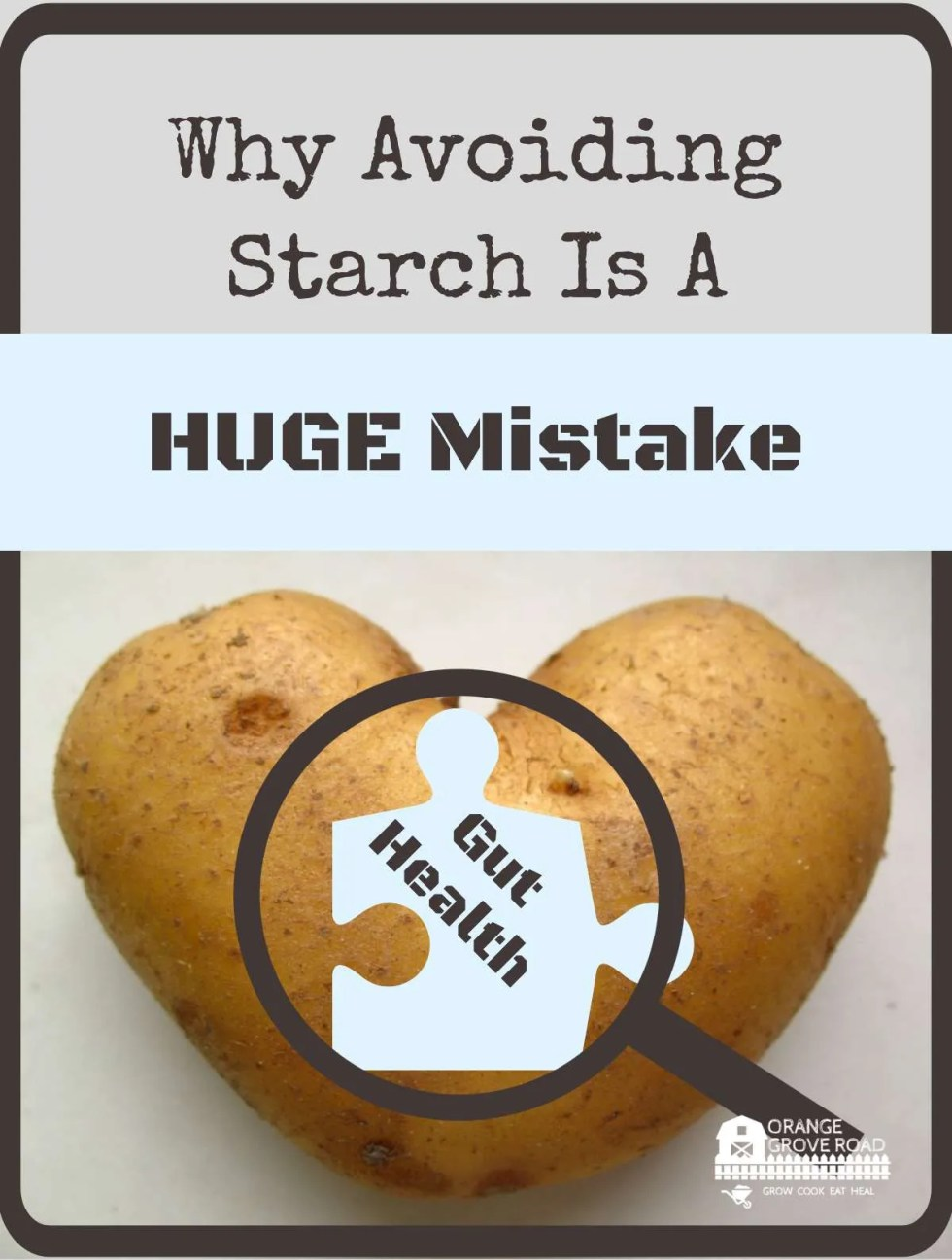 avoiding all starch mistake of the century?