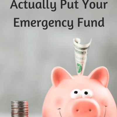 Where Should You Put Your Emergency Fund?
