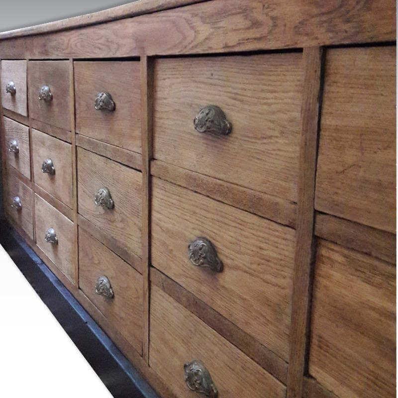 meuble de metier 15 tiroirs