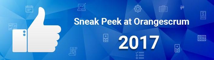 Sneak Peek - Orangescrum Project Collaboration Tool 2017