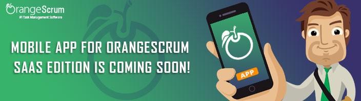 Orangescrum SaaS Mobile App