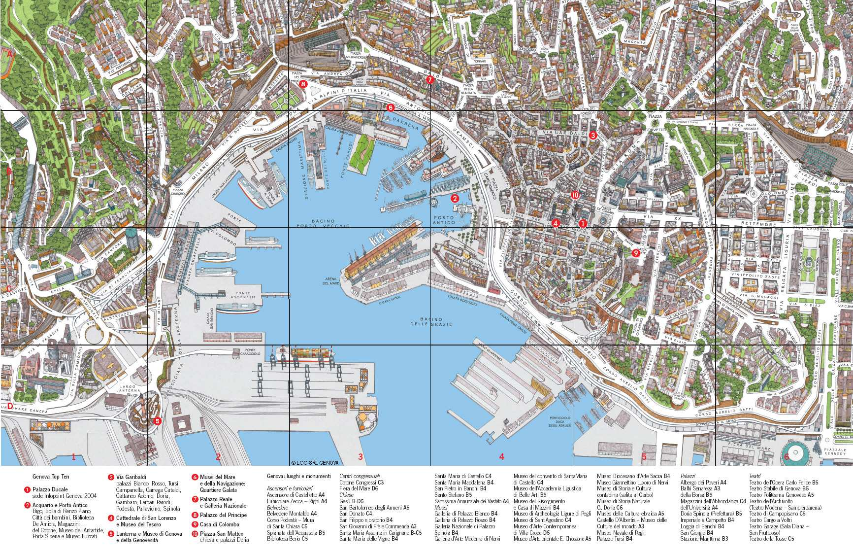 Image result for images map of genoa