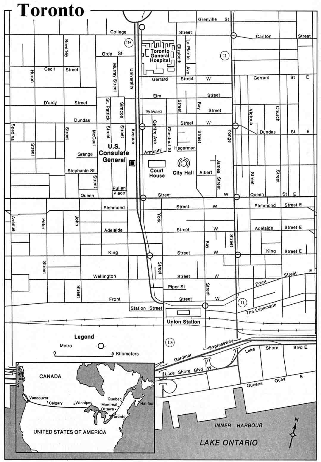 Large Toronto Maps For Free Download And Print