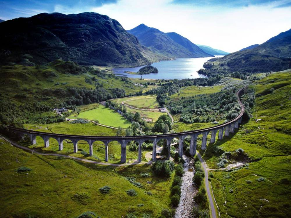 Glenfinnan Viaduct (van uit de Harry Potter films)