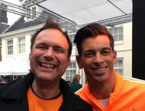 W.Taube-Petrignani (OVWeesp) & M.de Boer (radio 538)