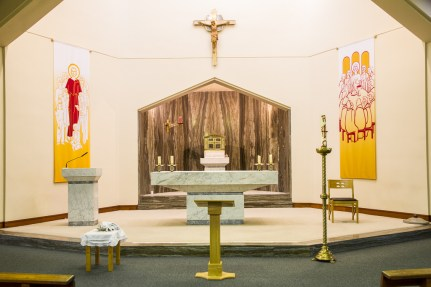 Altar in Oranmore Church