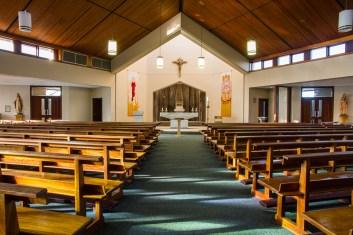 Inside Oranmore's Church