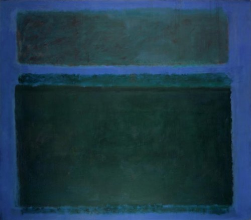 "Mark Rothko, ""Untitled"", 1957/Courtesy Portland Art Museum"